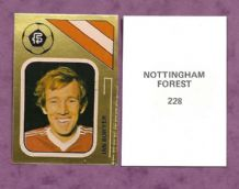 Nottingham Forest Ian Bowyer 228